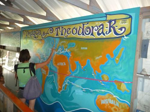 trip around the world.