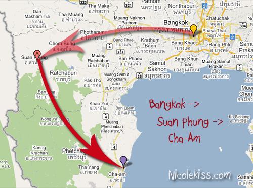 bangkok to cha-am