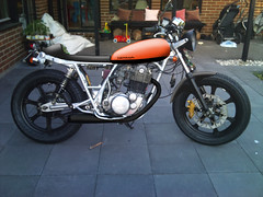 quick'n'dirty c&m (Anders Hansen) Tags: color photoshop paint yamaha customized 500 sr sr500 modefied