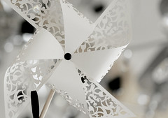 wedding place card-windmill (Special invite) Tags: wedding windmill placecard lasercutting