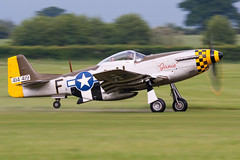 Janie (Huw Hopkins LRPS Photography) Tags: old photography display air north bedfordshire collection airshow american mustang warden shuttleworth warbirds dday huw hopkins hardwick airfield janie p51 p51d 4511518