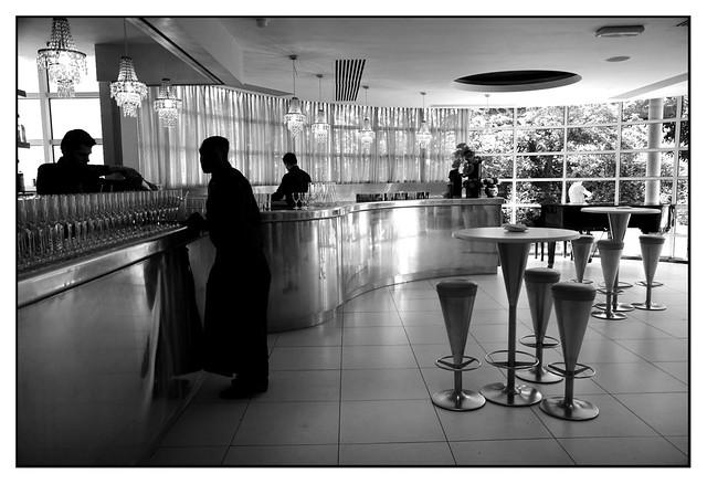 Kensington Roof Garden- Internal bar