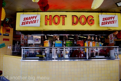 New York - Gray's Papaya's hot dog
