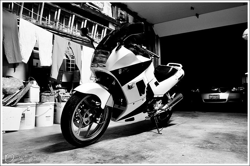 White B&W.