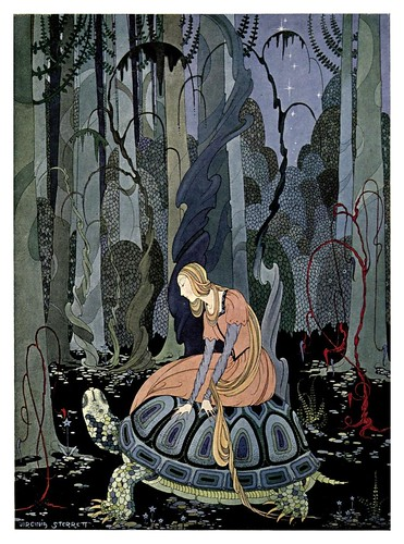012-Blondine-Old French Fairy Tales (1920)- Virginia Frances Sterrett