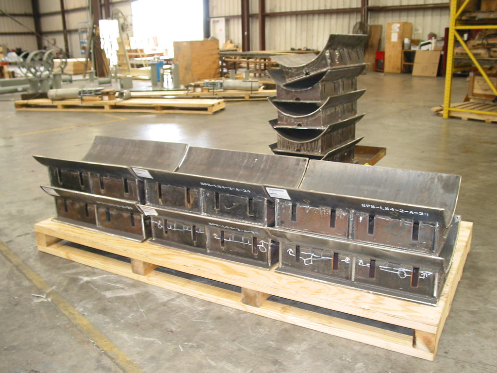Pipe Shoes for an Energy Plant in Canada