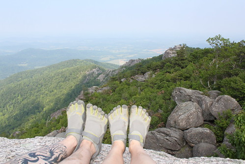 Old Rag - Vibrams at Summit (Far)