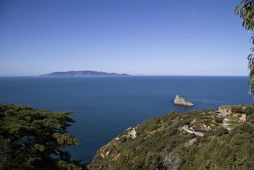 Giglio Island from Cala Piccola