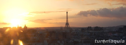 Por-do-sol Paris