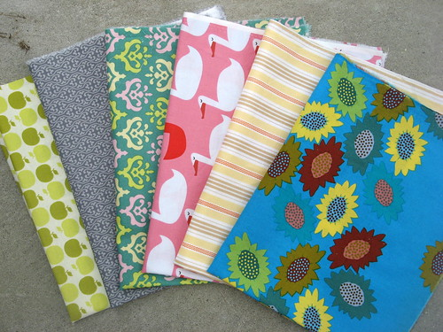 Modern Swappers Fabric