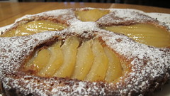 Pear and Almond Frangipane Tart (Silvia1230) Tags: frangipane pear pastry kitchenaid