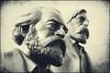 UN FANTASMA RECORRE EUROPA... (Dani Morell) Tags: berlin monument karlmarx rda marx ddr gdr marxism socialism comunista socialisme politic alemanya comunisme marxisme filosof