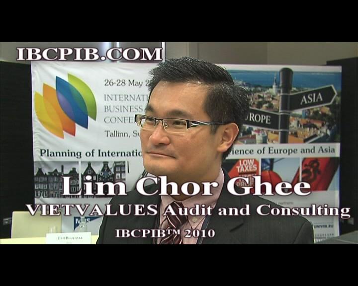 Speaker IBCPIB™ 2010 - Lim Chor Ghee