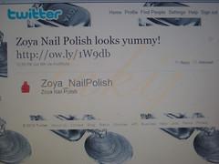 Zoya Dea Tweet