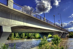 (SheldonPhotography) Tags: pictures bridge skyline architecture canon montana downtown mt photos missoula hdr highdynamicrange thegalaxy rebelxti orangestreetbridge sheldonphotography