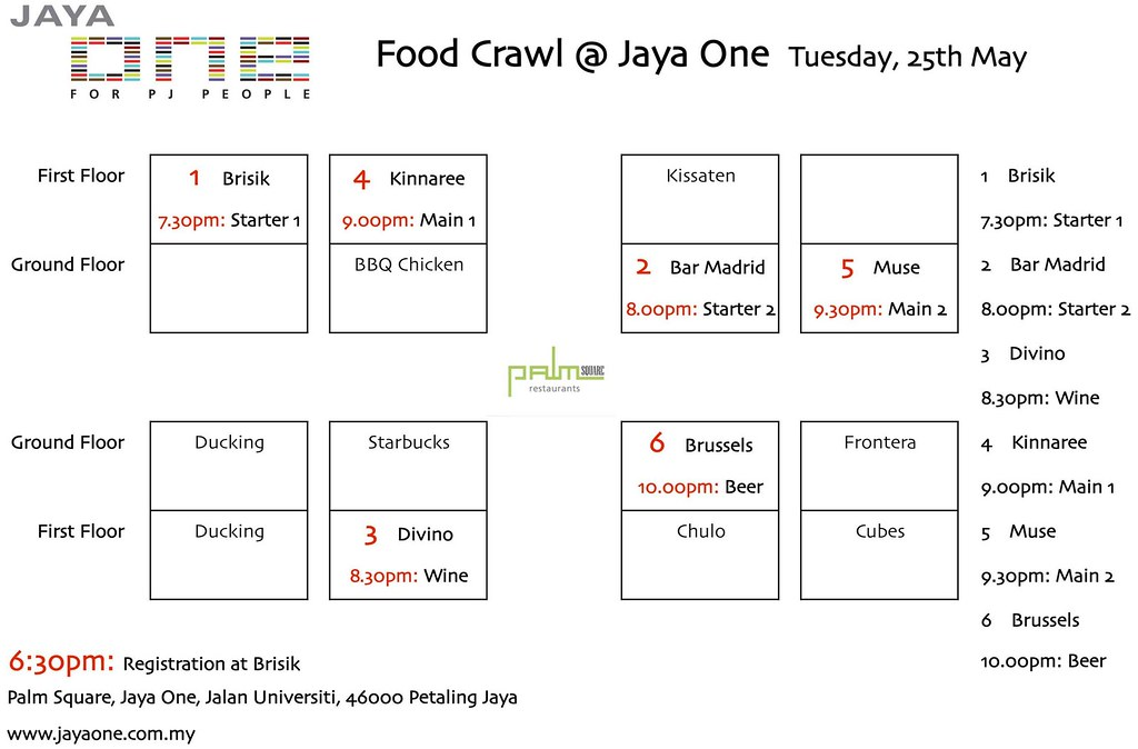 Jaya-One-Food-Crawl-Map
