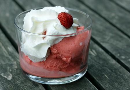 glace fraises