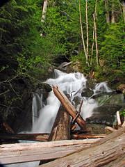 Ira Springs Falls (Mason Falls), Mason Creek, Snoqualmie Area