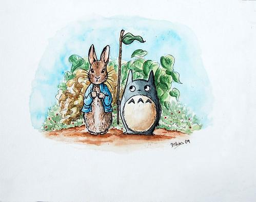 peter-rabbit-y-totoro
