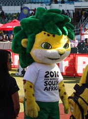 Zakumi, the 2010 FIFA World Cup South Africa™ official mascot