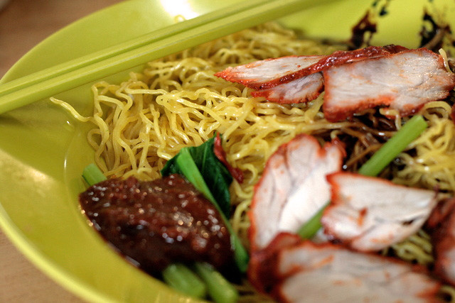 Wantan mee at Pepys Road