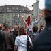 Freude nach dem Sieg der Schweizer Nati