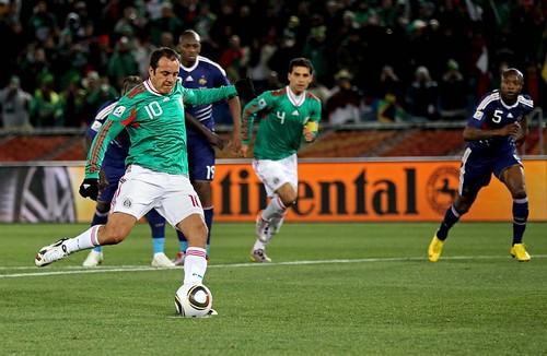 México vs. Francia, Mundial 2010 by Articularnos.com.