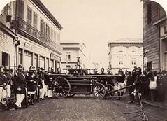 Primera Compaia de Bomberos de Valparaiso  1861 de William Oliver (santiagonostalgico) Tags: santiago oliver catedral william fotografo norteamericano 1867