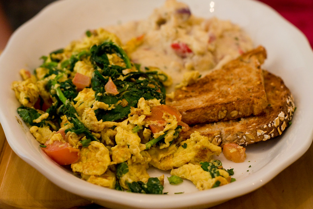 Egg scramble, Westville Cheslea
