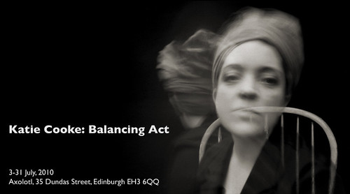 Katie Cooke: Balancing Act, 3-31 July, Axolotl Gallery, Edinburgh