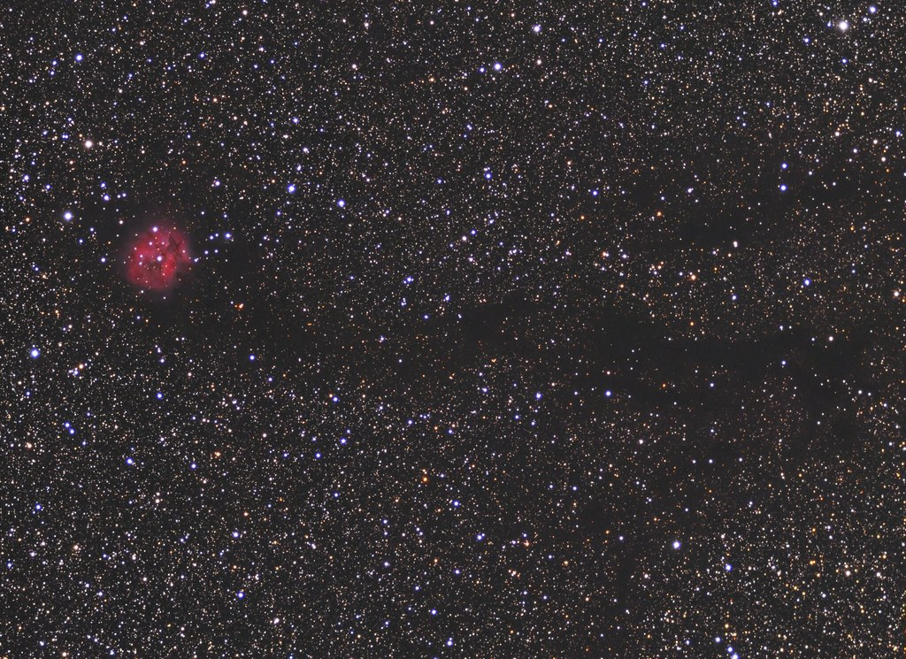 The Cocoon Nebula - widefield