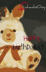 Happy birthday <3 (fahadoOoy) Tags: birthday love happy نور freshness bic صورة بحر روحي احبك اشتاق fahadoooy fahadooy فهدوي