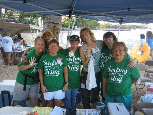 From left to right: Annie, Donna, Nancy, Erin, Wendy, Marcia, Lehua