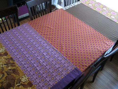 a Patchwork Tablecloth