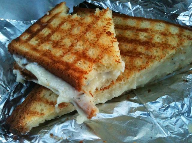 Grilled truffle cheese brioche sandwich by Caroline on Crack
