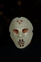 Fear the Jaques Plante mask.