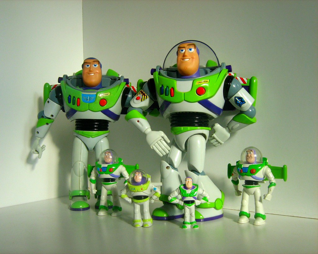 Buzz Lightyear Toy Figure Collection