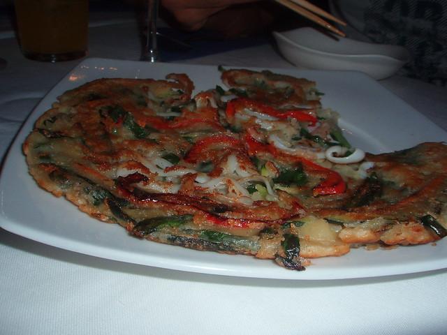 Cena coreana en Los Palillos del Cardenal
