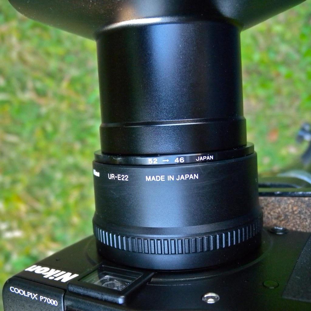 Nikon COOLPIX P7000 + FC-E9