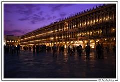 Plaza del San Marco en Venecia. (malachica) Tags: plaza venice italia nocturna venecia sanmarco veneto ltytr2 ltytr1 ltytr3 malachica