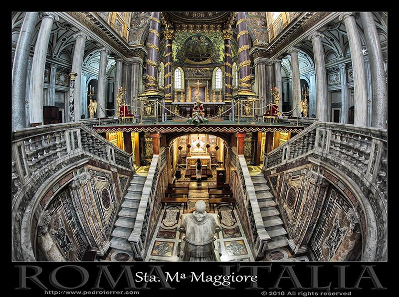 Roma - Basílica papal de Santa María la Mayor