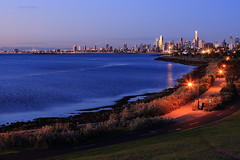 City evening view (kth517) Tags: australia victoria elwood  aftersunset  cityeveningview