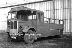 Aberdeen sand lorry No 1 (ARG 43) 1965. (VRS 323) Tags: aberdeen walker act aecregal arg43