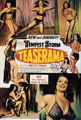 Teaserama (1955) (chibalove) Tags: storm 1955 fetish comedy highheels page stripper tempest burlesque bettie irvingklaw ffstockings teaserama newandnaughty