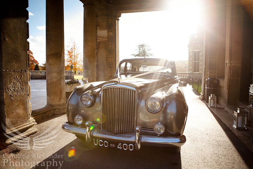 Cirencester Wedding Photographer Rencomb Classic Car
