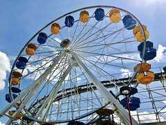 Ferris Wheel (RH Francis) Tags: ferriswheel indianabeach iphone7 monticello indiana
