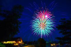 Fireworks (Robert Clifford) Tags: 4thofjuly 5d canon lake lakelife lakewinnipesaukee markiii nh nhphotographer newengland newhampshire robcliffordphotography robertallanclifford robertclifford wolfeboro boating fireworks