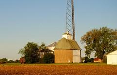 Genoa, Illinois Farm (Cragin Spring) Tags: midwest unitedstates usa unitedstatesofamerica barn morning farm building genoa genoail genoaillinois rural tower illinois il