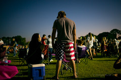 Wearing the flag (michael.mu) Tags: leica m240 35mm leicasummicron35mmf20asph leicasummicronm1235mmasph neworleans metairie lafreniere flag patriot fireworks 4thofjuly independance streetphotography american