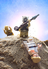 Tusken Attack! (that_brick_guy) Tags: photography toyphotography toy toys nikkor18g 18g d7200 nikon figures mini minifigures legominifigures legostarwars lego stick gaffi gaffistick protocol protocoldroid droid theeepio seethreepio c3po skywalker lukeskywalker luke raider bantha people sand sandpeople tuskenraider tusken attack tatooine hope new anewhope wars star starwars
